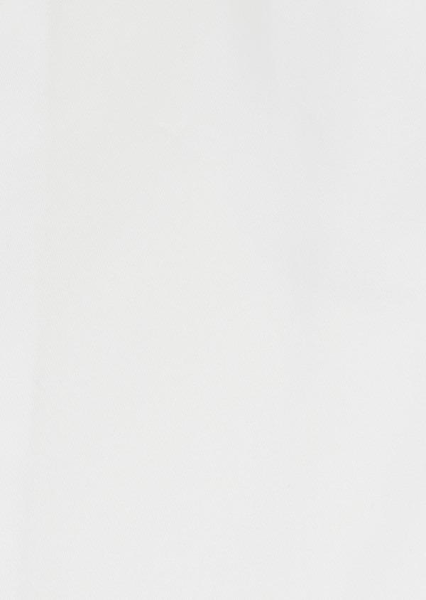 Chemise habillée Slim en satin de coton uni blanc - Father and Sons 32371
