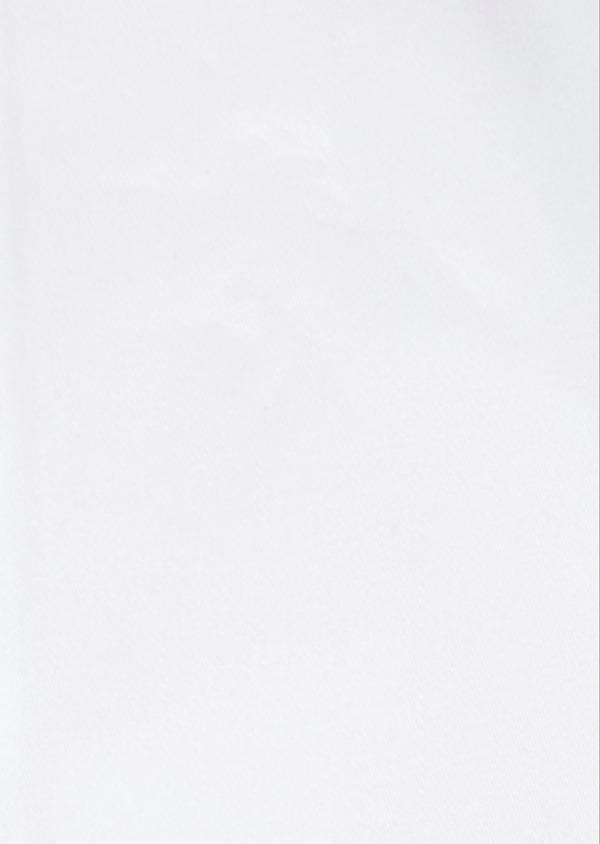 Chemise habillée Slim en satin de coton uni blanc - Father and Sons 32423