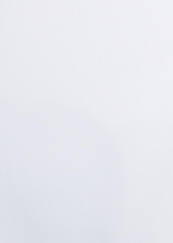 Chemise habillée Slim en satin de coton uni blanc - Father and Sons 32447