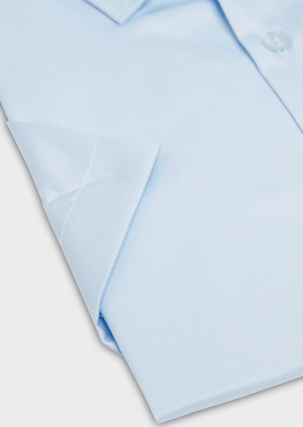 Chemise manches courtes Slim en coton tissé jacquard à motifs - Father and Sons 18230