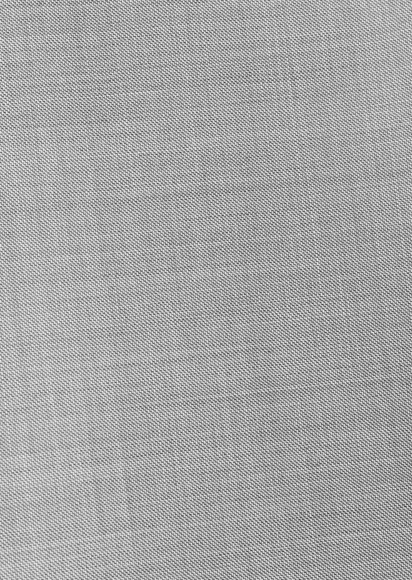 Costume 2 pièces Regular en laine unie gris clair - Father and Sons 32698