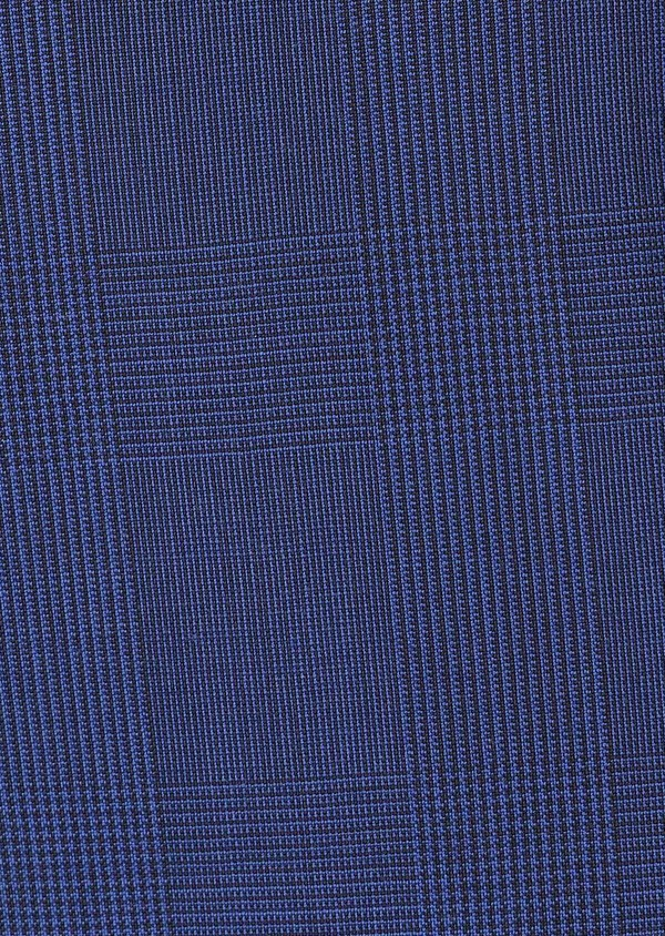 Costume 2 pièces Slim en laine bleu indigo Prince de Galles - Father and Sons 32756