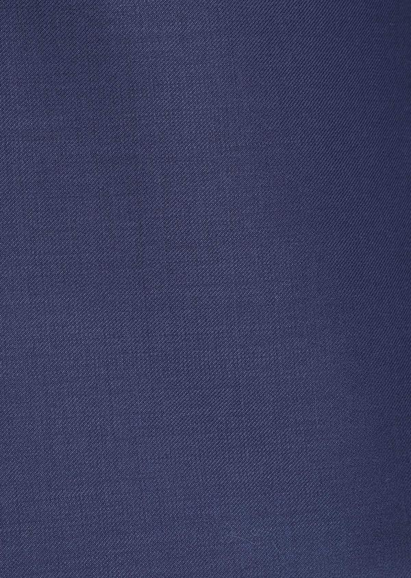 Costume 2 pièces Slim en laine unie bleu indigo - Father and Sons 36500