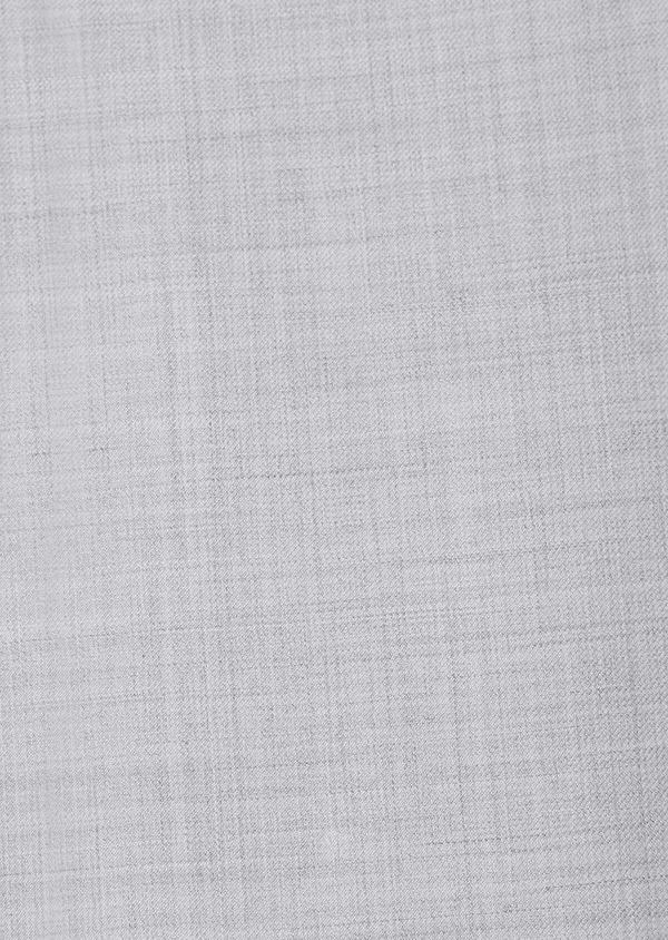 Costume 2 pièces Slim en laine unie gris clair - Father and Sons 32691