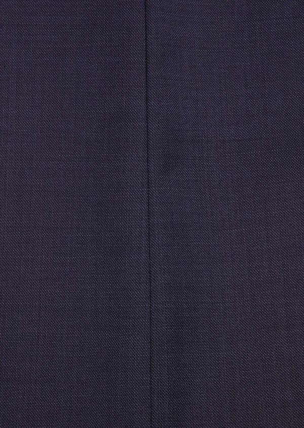 Costume 2 pièces Slim en laine unie bleu marine - Father and Sons 32649