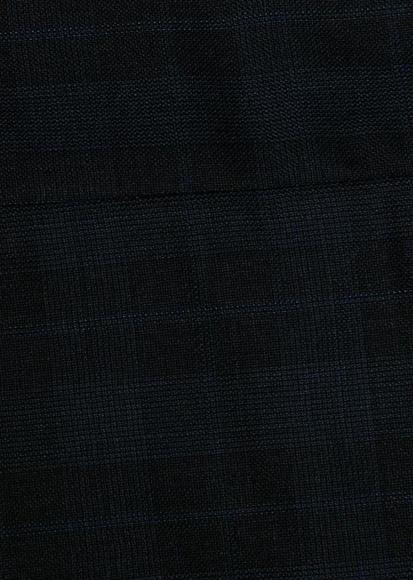 Costume 2 pièces Regular en laine bleu marine Prince de Galles - Father and Sons 26541