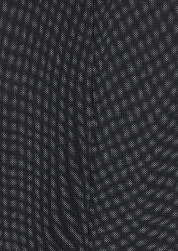 Costume 2 pièces Regular en laine stretch naturelle unie gris anthracite - Father and Sons 35001