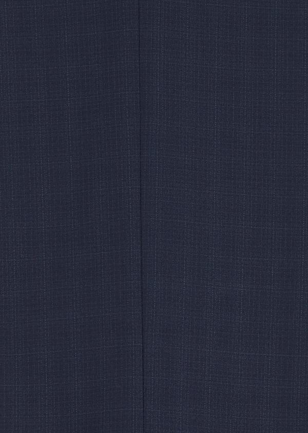 Costume 2 pièces Regular en laine stretch naturelle unie bleu indigo - Father and Sons 35061