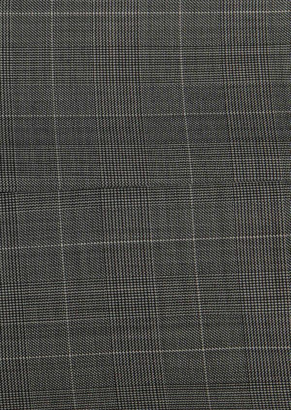 Costume 2 pièces Slim en laine gris clair Prince de Galles - Father and Sons 26383