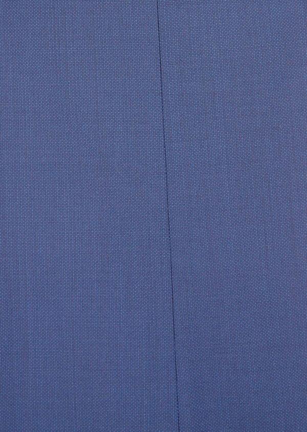 Costume 2 pièces Slim en laine stretch Naturelle unie bleu indigo - Father and Sons 37463