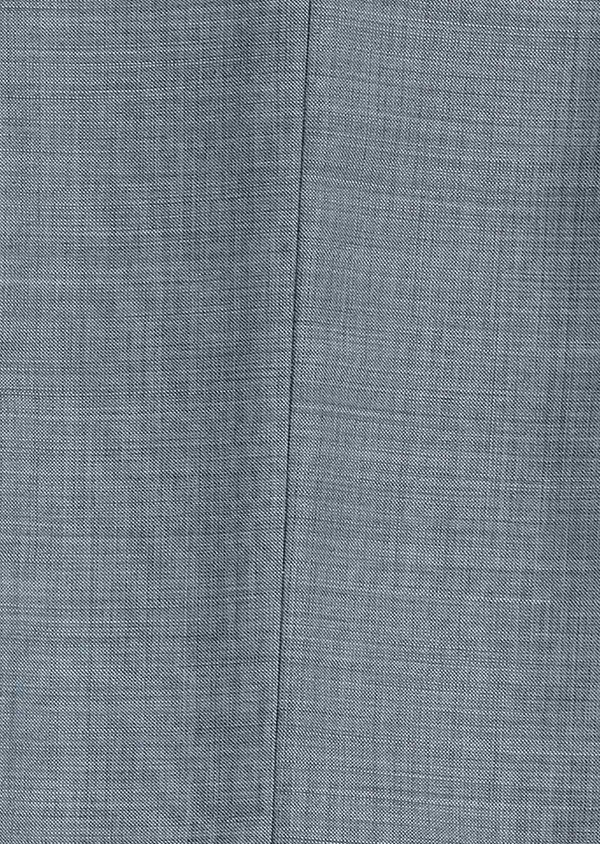 Costume 2 pièces Slim en laine unie bleu chambray - Father and Sons 30604