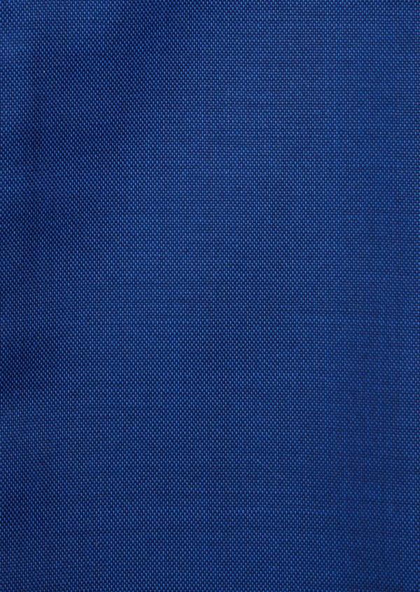 Costume 2 pièces Slim en laine unie bleue - Father and Sons 27588