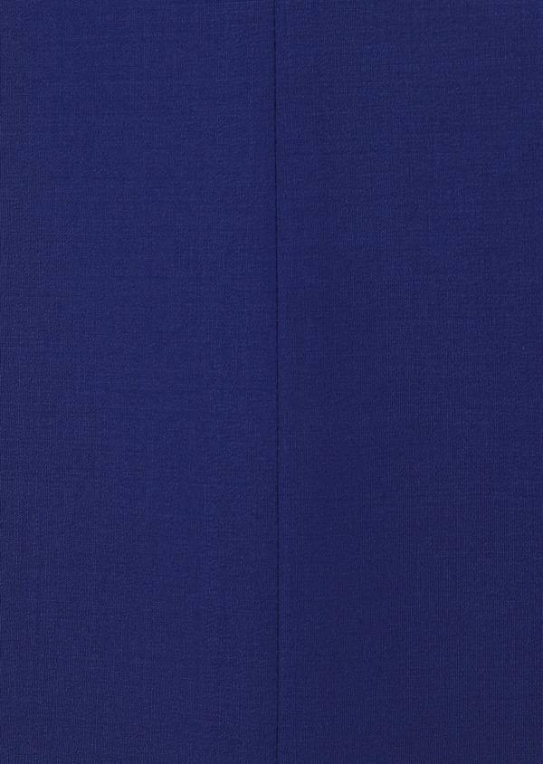 Costume 2 pièces Slim en laine mélangée unie bleue - Father and Sons 31017