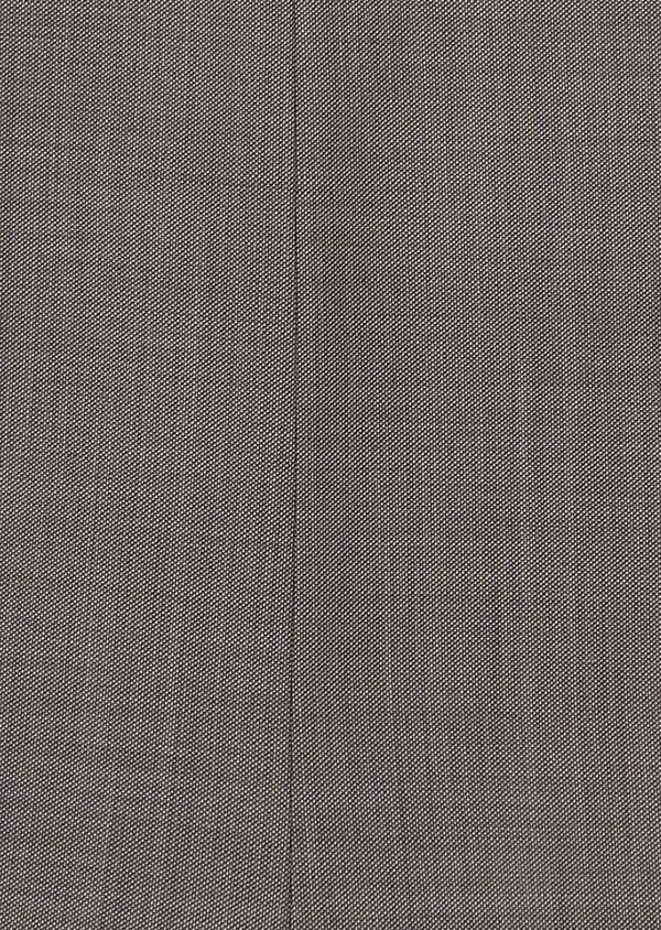 Costume 2 pièces Slim en laine unie gris clair - Father and Sons 31498