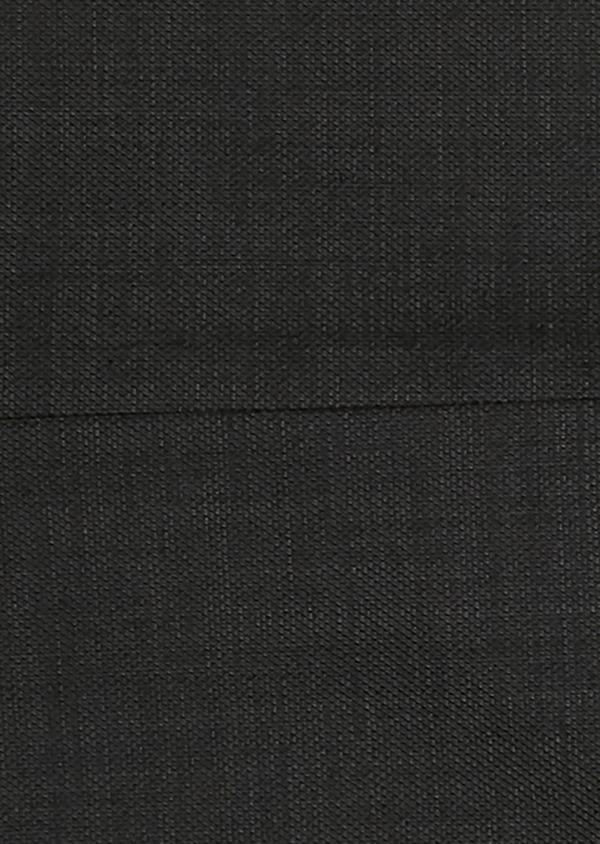 Costume 2 pièces Slim en laine façonnée unie grise - Father and Sons 26402