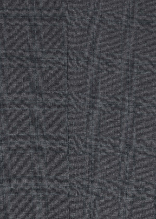Costume 2 pièces Slim en laine stretch naturelle unie grise - Father and Sons 35089