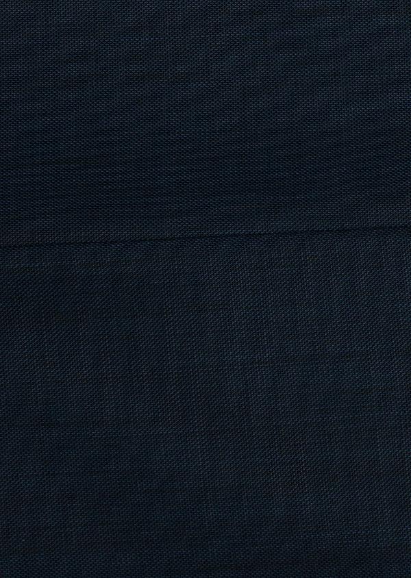 Costume 2 pièces Slim en laine unie bleu indigo - Father and Sons 26422