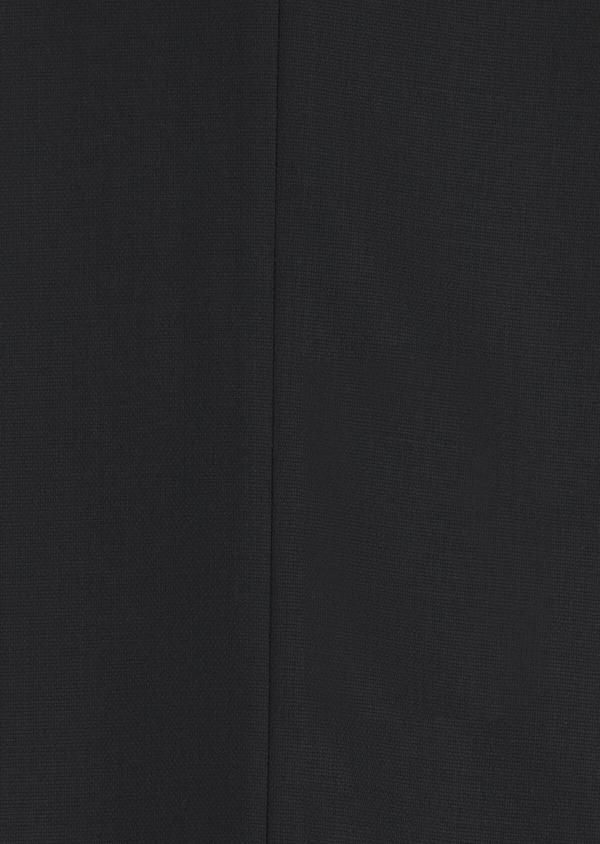 Costume 2 pièces Slim en laine mélangée stretch unie noire - Father and Sons 35082