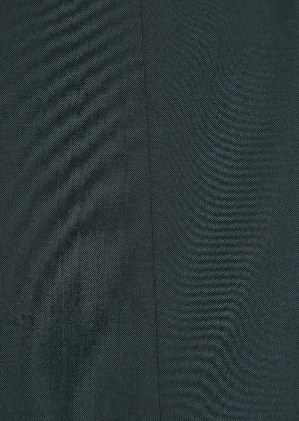 Costume 2 pièces Slim en laine stretch naturelle unie verte - Father and Sons 35003