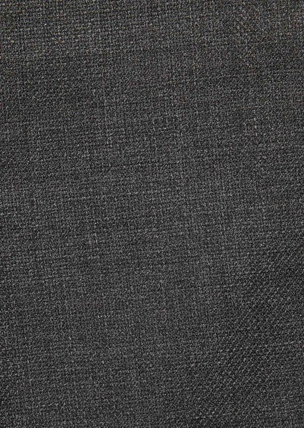 Costume de voyage 2 pièces Slim en laine unie grise - Father and Sons 28331
