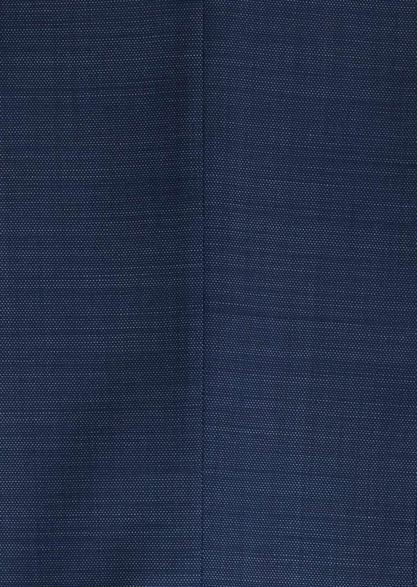 Costume 2 pièces Slim en laine texturée bleu indigo - Father and Sons 20144