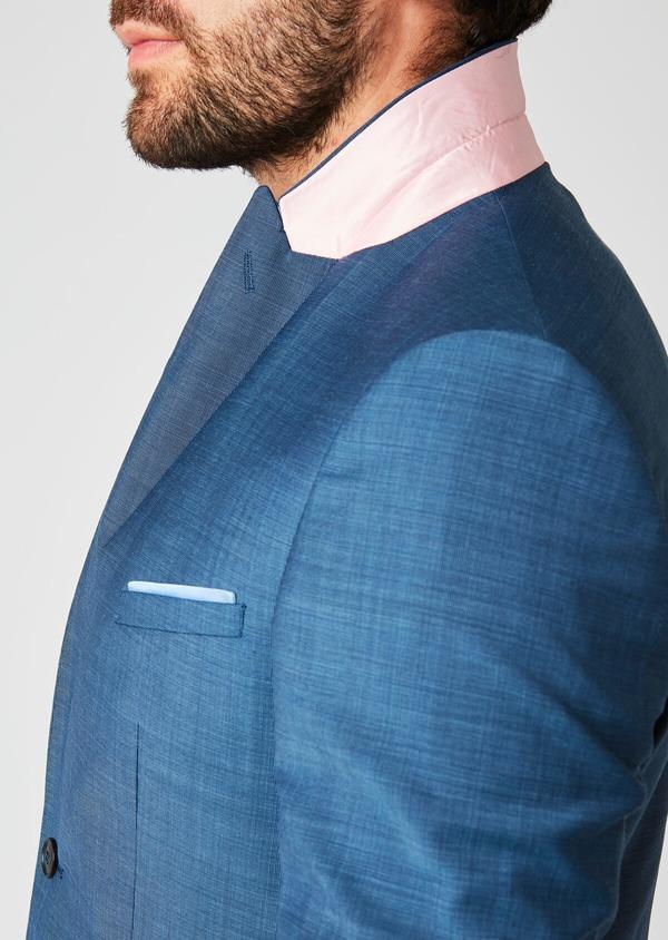 Costume 2 pièces Slim en laine bleu indigo - Father and Sons 20167