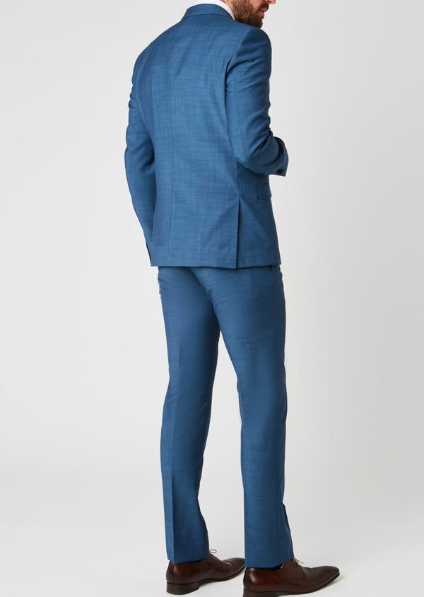 Costume 2 pièces Slim en laine bleu indigo - Father and Sons 20166