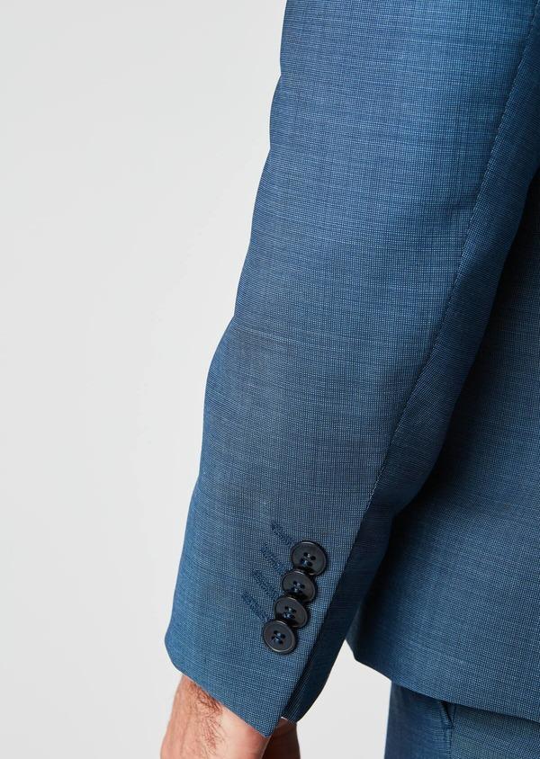 Costume 2 pièces Slim en laine bleu indigo - Father and Sons 20169