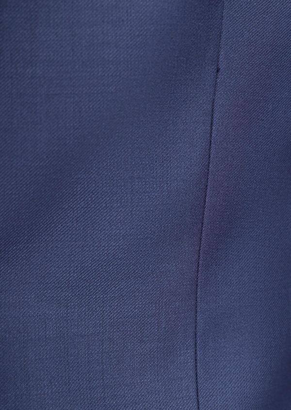 Costume 2 pièces Slim en laine unie bleu indigo - Father and Sons 35733