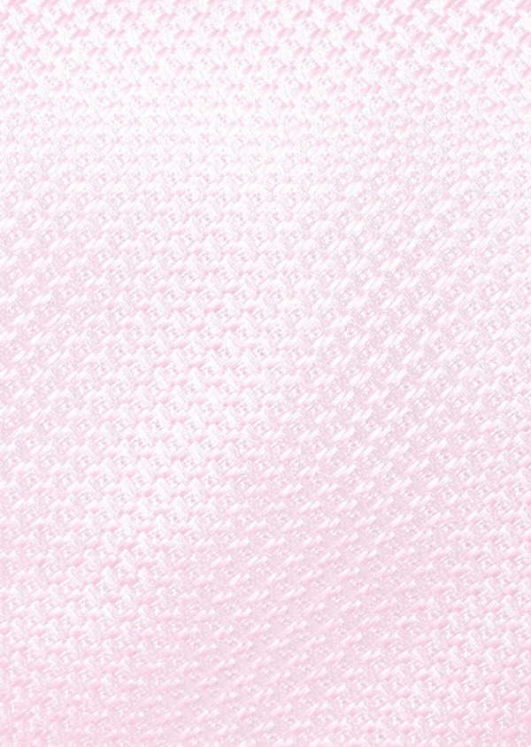 Cravate fine en soie unie rose - Father and Sons 35193