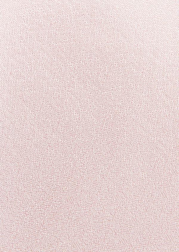Cravate fine en soie unie rose pâle - Father and Sons 26707