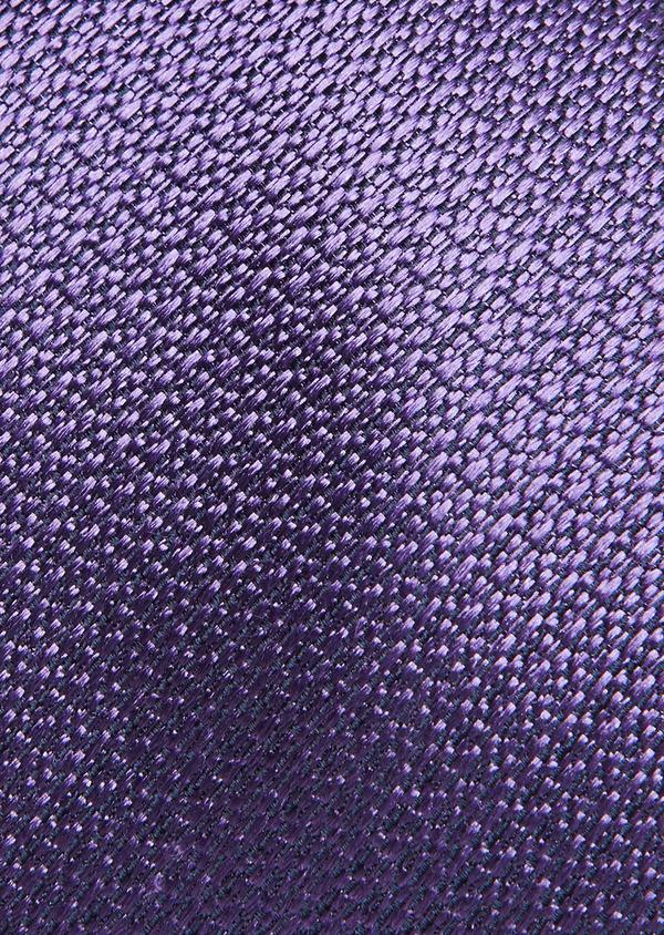 Cravate fine en soie violette - Father and Sons 26719