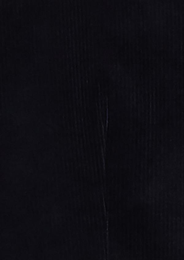 Gilet de costume coordonnable en velours bleu marine - Father and Sons 30640