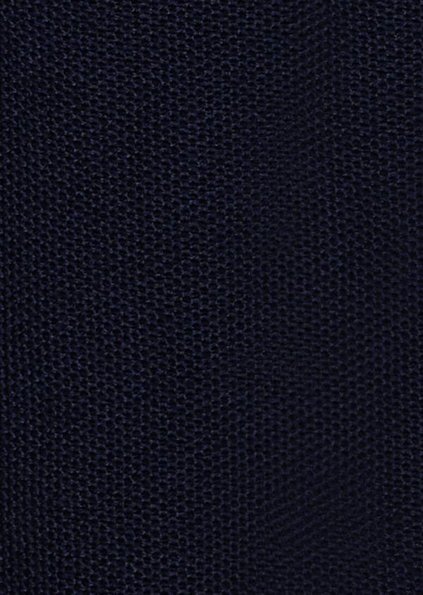 Sweat zippé à capuche en coton uni bleu marine - Father and Sons 33487