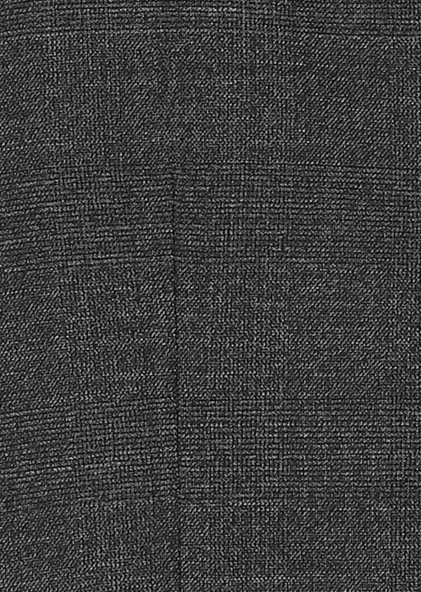 Gilet de costume coordonnable en laine mélangée grise Prince de Galles - Father and Sons 30624