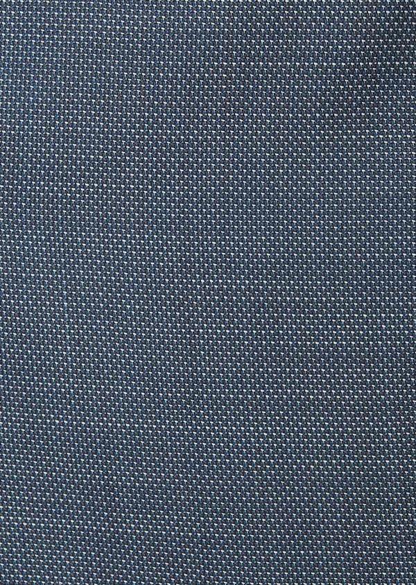Gilet de costume en laine unie bleu chambray - Father and Sons 30950