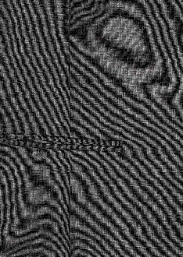 Gilet de costume coordonnable en laine mélangée unie grise - Father and Sons 31511