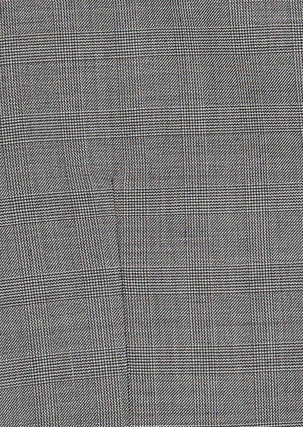 Gilet de costume en laine melangée grise - Father and Sons 20190