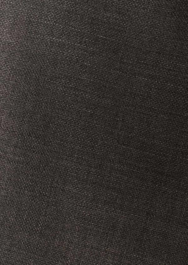 Gilet de costume voyage coordonnable en laine unie grise - Father and Sons 28388