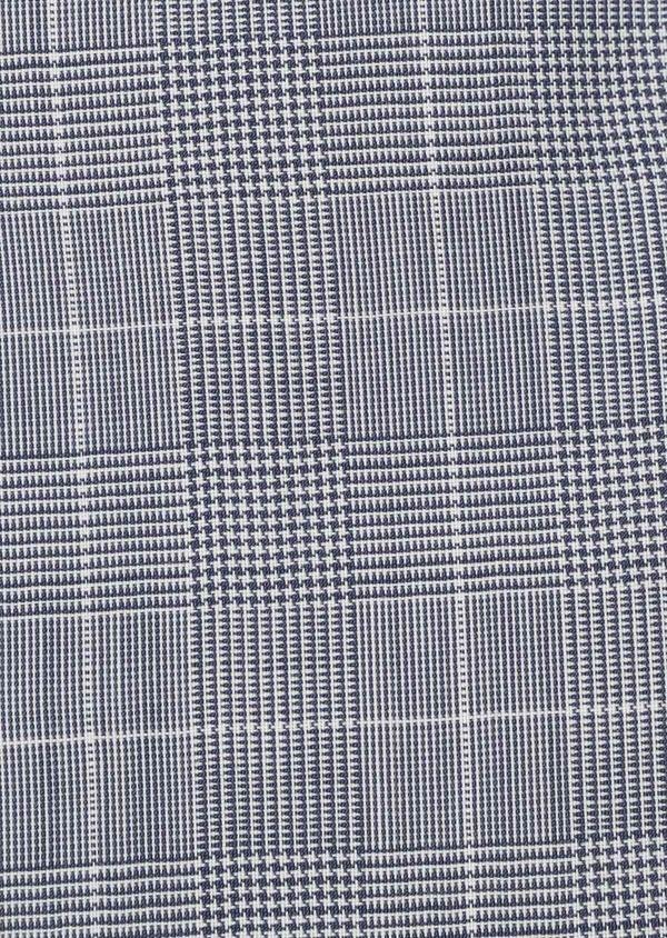Gilet de costume en laine bleu ciel Prince de Galles - Father and Sons 33076
