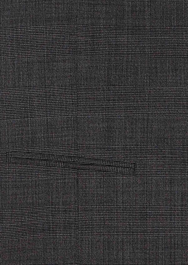 Gilet de costume en laine mélangée grise Prince de Galles - Father and Sons 33096