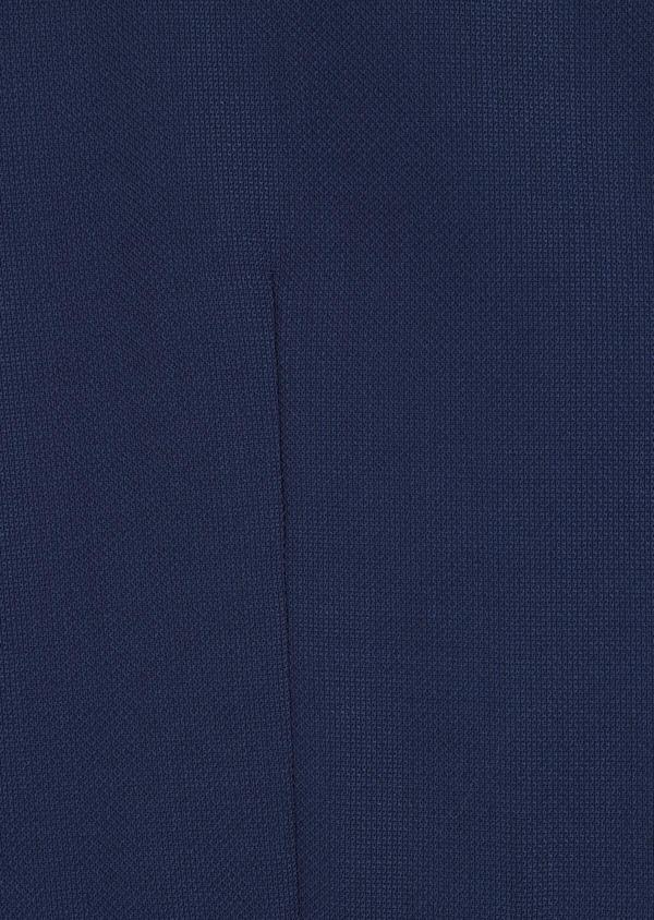 Gilet de costume en laine unie bleu indigo - Father and Sons 34387