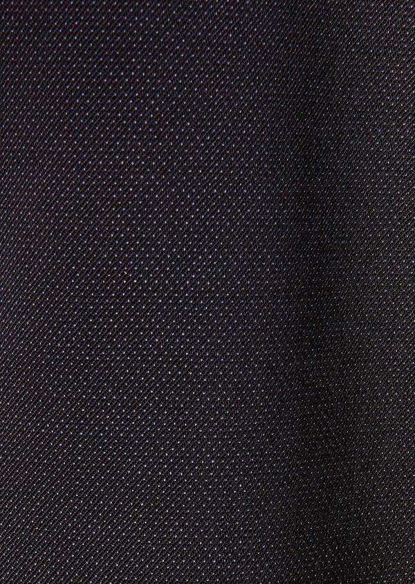 Gilet de costume en laine mélangée unie bleu marine - Father and Sons 33091