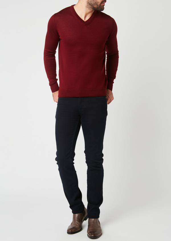Jean skinny en coton marine - Father and Sons 27810