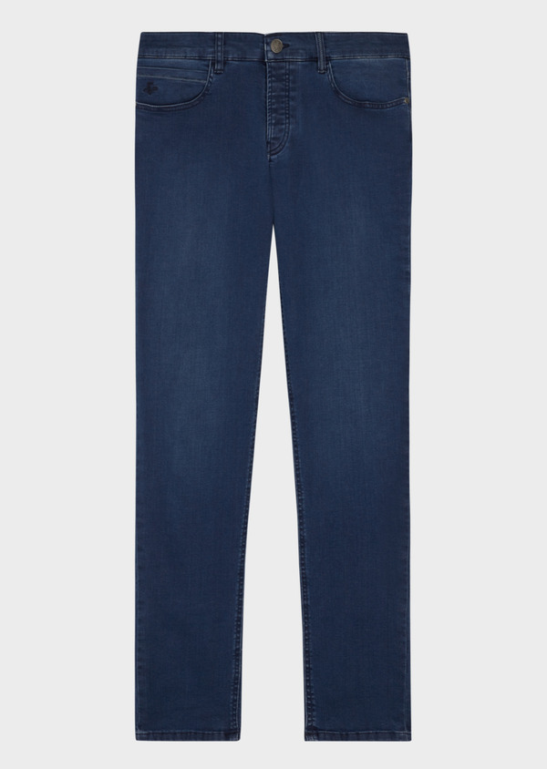 Jean skinny en coton stretch bleu chambray - Father and Sons 36946
