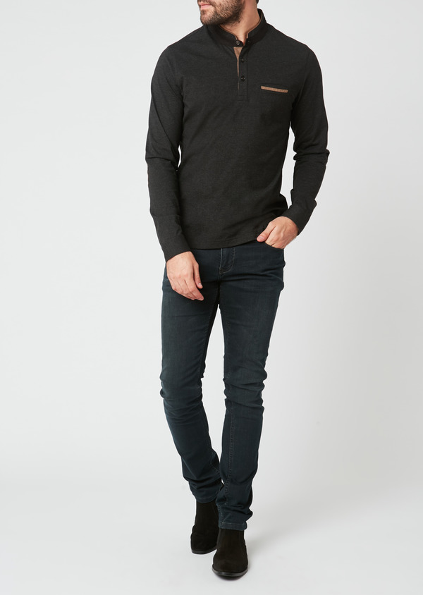 Jean skinny en coton gris - Father and Sons 27798