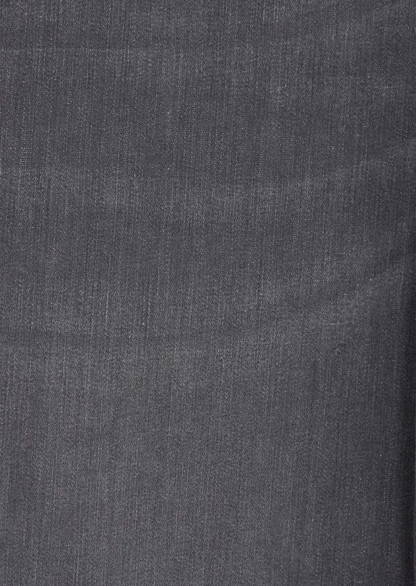 Jean skinny en coton mélangé stretch gris - Father and Sons 39206