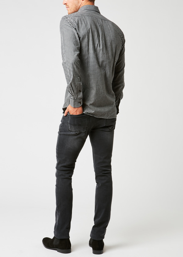 Jean skinny en coton gris anthracite - Father and Sons 26822