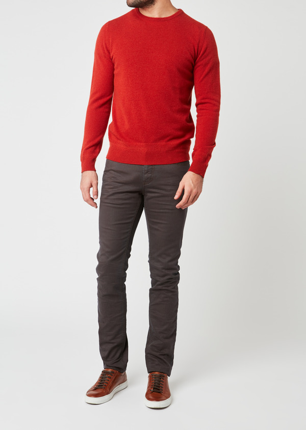 Jean skinny en coton gris moyen - Father and Sons 27821