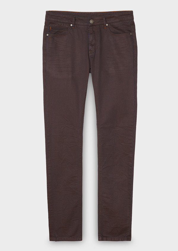 Jean skinny en coton gris moyen - Father and Sons 27820